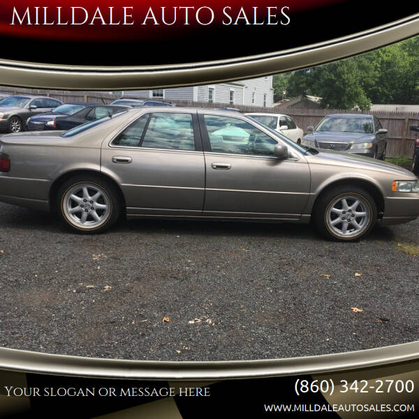 2003 Cadillac Seville for sale at MILLDALE AUTO SALES in Portland CT