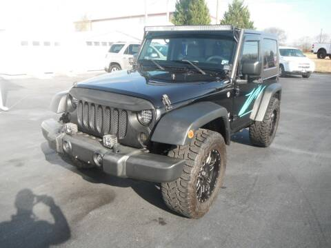 2009 Jeep Wrangler for sale at Morelock Motors INC in Maryville TN