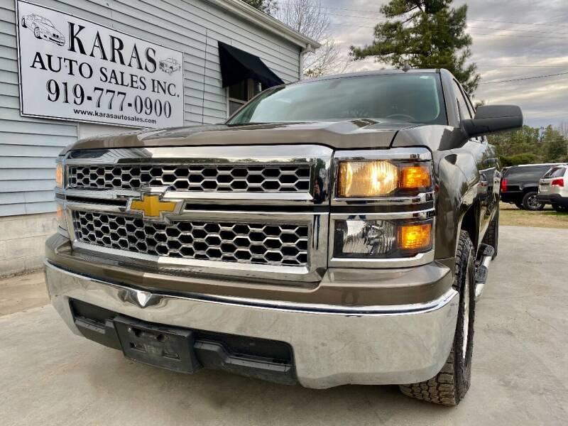 2014 Chevrolet Silverado 1500 for sale at Karas Auto Sales Inc. in Sanford NC