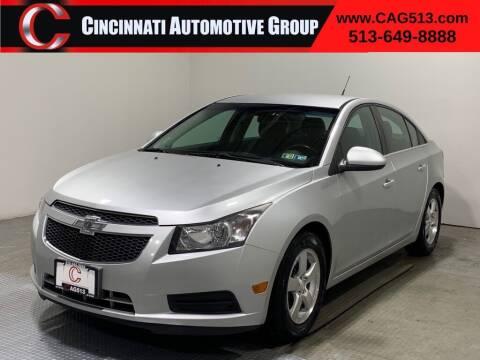 2014 Chevrolet Cruze for sale at Cincinnati Automotive Group in Lebanon OH