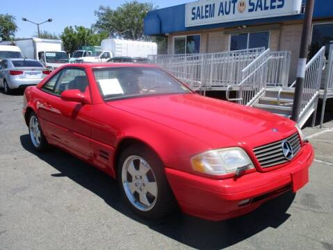 2000 Mercedes-Benz SL-Class for sale at Salem Auto Sales in Sacramento CA