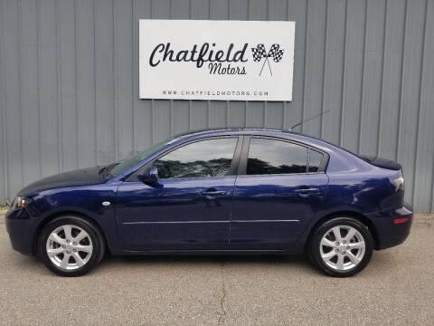 2009 Mazda MAZDA3 for sale at Chatfield Motors in Chatfield MN
