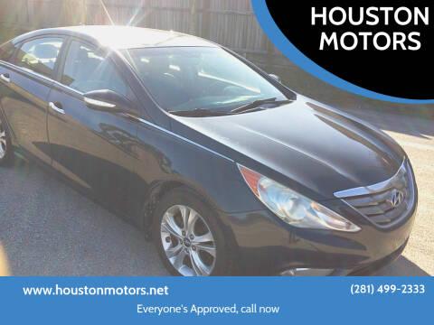 2011 Hyundai Sonata for sale at HOUSTON MOTORS in Stafford TX