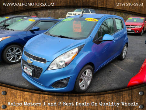 2014 Chevrolet Spark for sale at Valpo Motors 1 and 2  Best Deals On Quality Wheels in Valparaiso IN