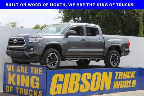 2016 Toyota Tacoma for sale at Gibson Truck World in Sanford FL