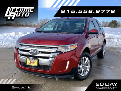 2014 Ford Edge for sale at Lifetime Auto in Elwood IL