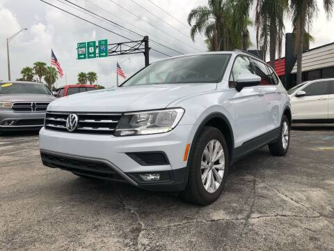2018 Volkswagen Tiguan for sale at Gtr Motors in Fort Lauderdale FL