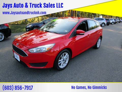 2017 Ford Focus for sale at Jays Auto & Truck Sales LLC in Loudon NH