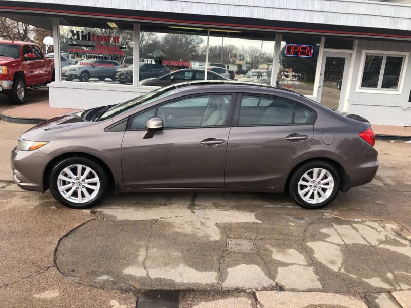 2012 Honda Civic for sale at Midtown Motors in North Platte NE