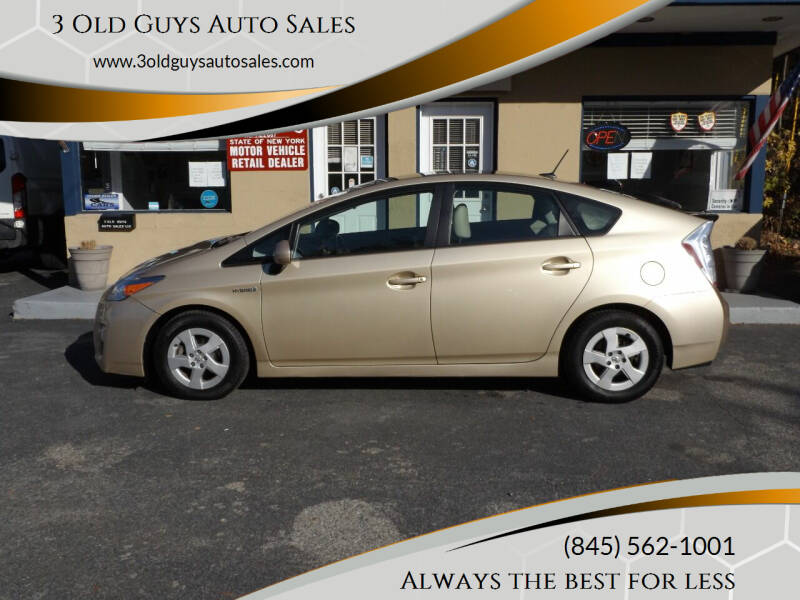 2010 Toyota Prius for sale at 3 Old Guys Auto Sales in Newburgh NY