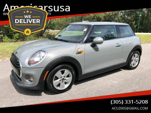 2016 MINI Hardtop 2 Door for sale at Americarsusa in Hollywood FL