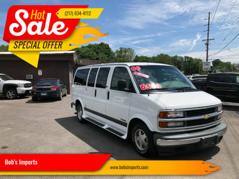 2000 Chevrolet Express Passenger for sale at Bob's Imports in Clinton IL