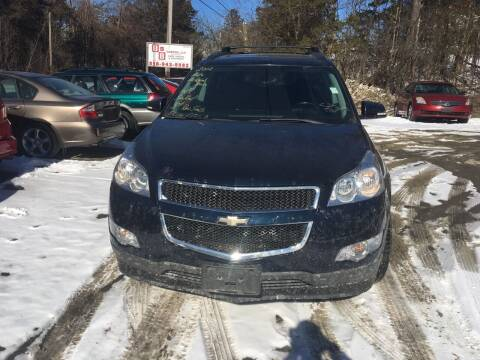 2012 Chevrolet Traverse for sale at B & B GARAGE LLC in Catskill NY