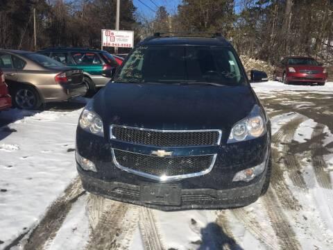 2012 Chevrolet Traverse for sale at B & B GARAGE LLC in Catskill NY