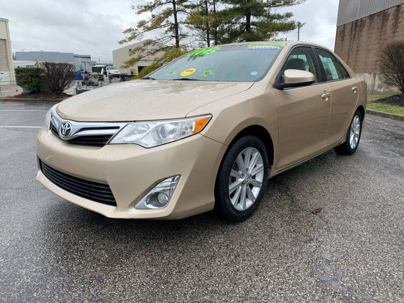 2012 Toyota Camry for sale at Craven Cars in Louisville KY