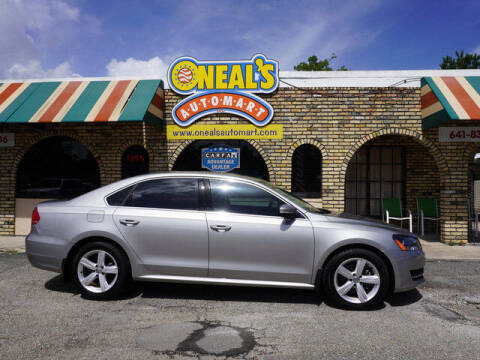 2013 Volkswagen Passat for sale at Oneal's Automart LLC in Slidell LA