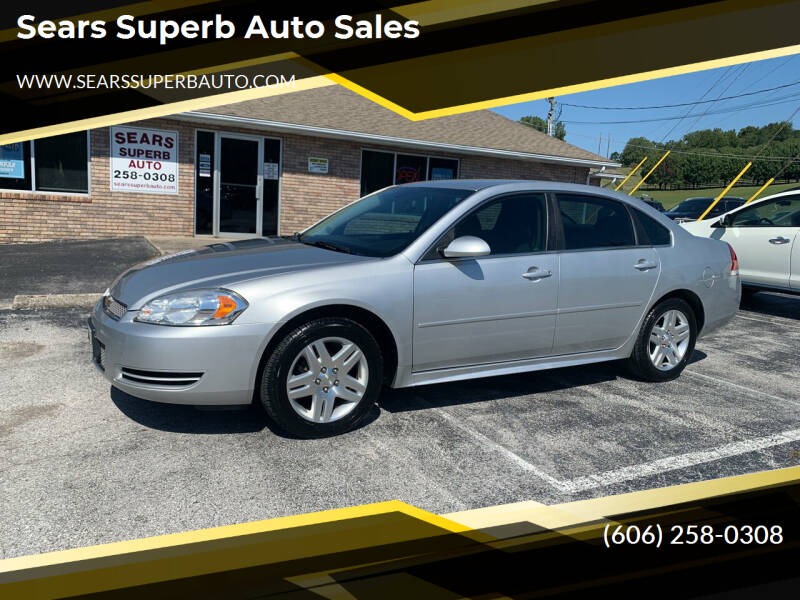 2013 Chevrolet Impala for sale at Sears Superb Auto Sales in Corbin KY