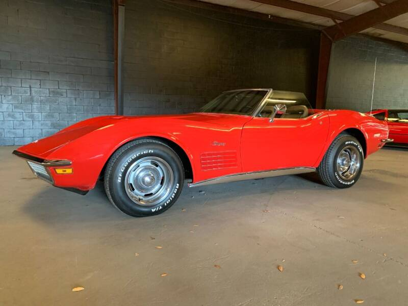 1972 Chevrolet Corvette for sale at American Classic Car Sales in Sarasota FL