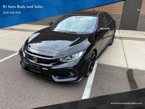 2019 Honda Civic for sale at KI Auto Body and Sales in Lino Lakes MN