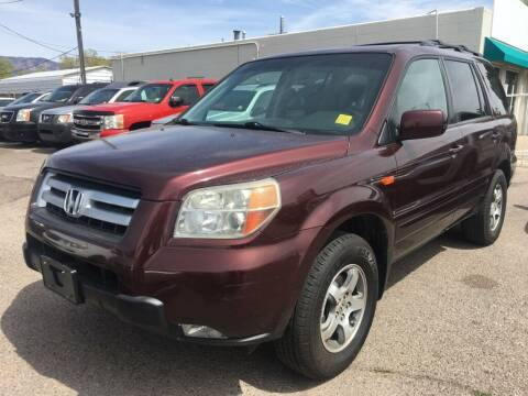 2008 Honda Pilot for sale at Top Gun Auto Sales, LLC in Albuquerque NM