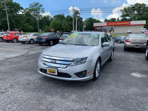 2012 Ford Fusion for sale at Credit Connection Auto Sales Dover in Dover PA