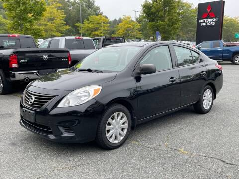 2013 Nissan Versa for sale at Midstate Auto Group in Auburn MA