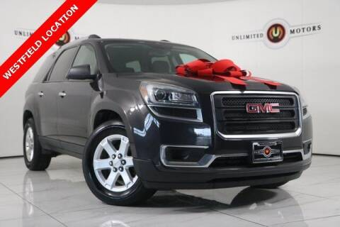 2016 GMC Acadia for sale at INDY'S UNLIMITED MOTORS - UNLIMITED MOTORS in Westfield IN