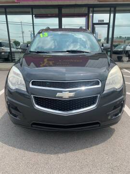 2013 Chevrolet Equinox for sale at DRIVEhereNOW.com in Greenville NC