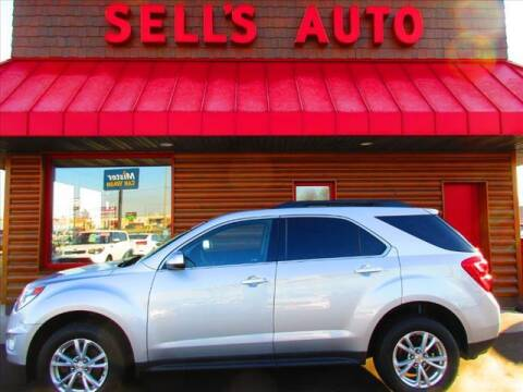 2017 Chevrolet Equinox for sale at Sells Auto INC in Saint Cloud MN