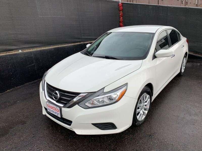 2017 Nissan Altima for sale at McManus Motors in Wheat Ridge CO