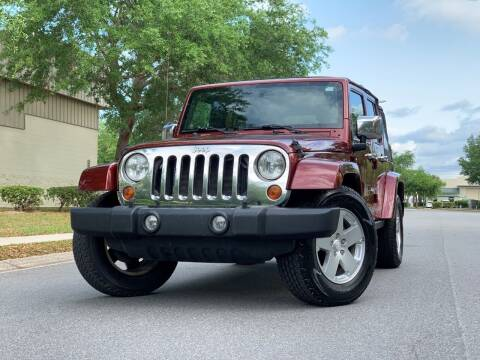 2008 Jeep Wrangler Unlimited for sale at Presidents Cars LLC in Orlando FL