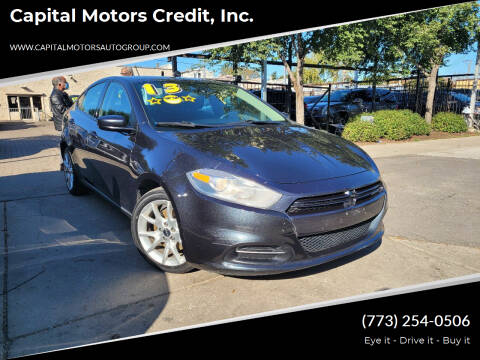 2013 Dodge Dart for sale at Capital Motors Credit, Inc. in Chicago IL