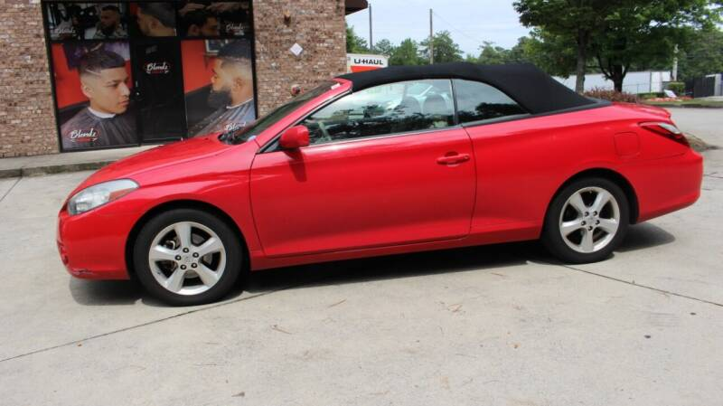 2007 Toyota Camry Solara for sale at NORCROSS MOTORSPORTS in Norcross GA