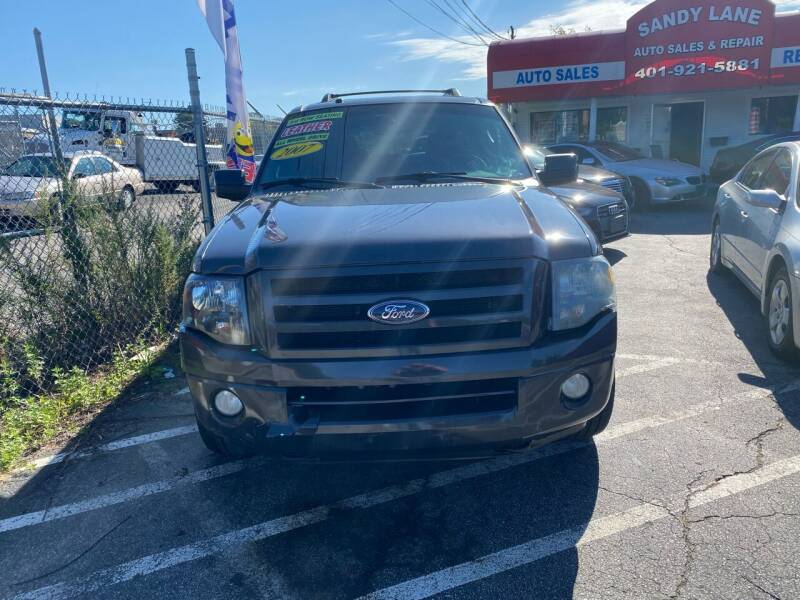 2007 Ford Expedition EL for sale at Sandy Lane Auto Sales and Repair in Warwick RI