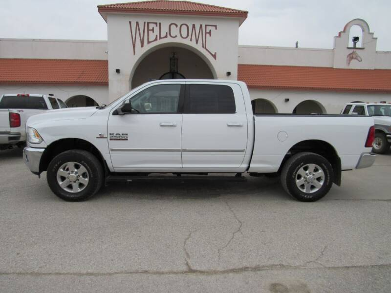 2014 RAM Ram Pickup 2500 for sale at HANSEN'S USED CARS in Ottawa KS