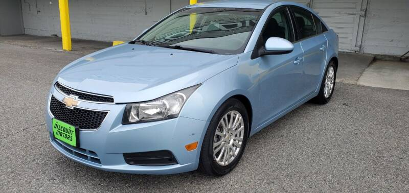 2011 Chevrolet Cruze for sale at Discount Motor Sales LLC in Wenatchee WA