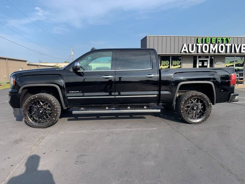 2016 GMC Sierra 1500 for sale at Smooth Solutions 2 LLC in Springdale AR