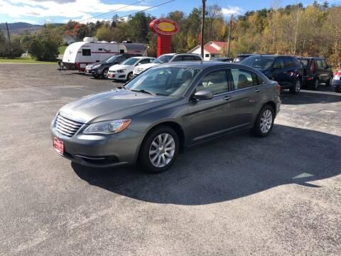 2013 Chrysler 200 for sale at DAN KEARNEY'S USED CARS in Center Rutland VT