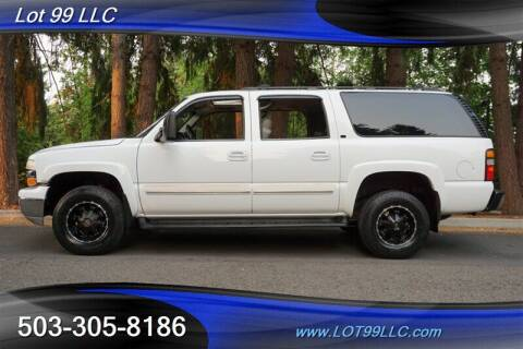 2006 Chevrolet Suburban for sale at LOT 99 LLC in Milwaukie OR