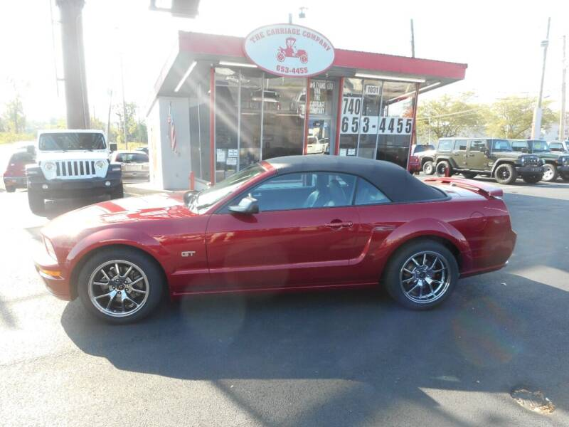 2007 Ford Mustang for sale at The Carriage Company in Lancaster OH