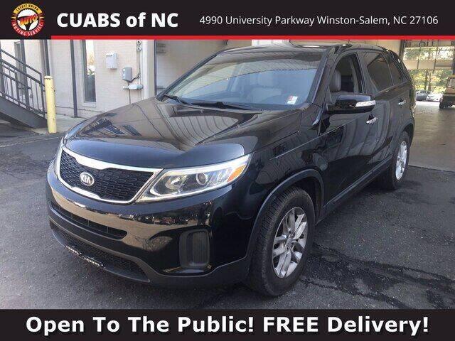 2015 Kia Sorento for sale at Summit Credit Union Auto Buying Service in Winston Salem NC