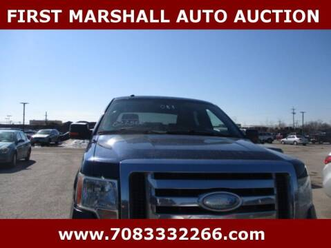 2009 Ford F-150 for sale at First Marshall Auto Auction in Harvey IL