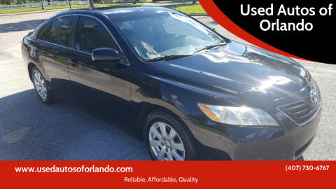 2007 Toyota Camry for sale at Used Autos of Orlando in Orlando FL