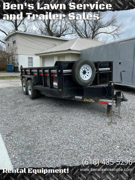 Corn Pro 14' Dump Trailer 14,000LBS for sale at Ben's Lawn Service and Trailer Sales in Benton IL