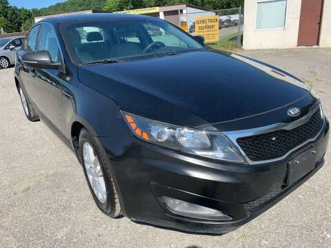 2013 Kia Optima for sale at Ron Motor Inc. in Wantage NJ