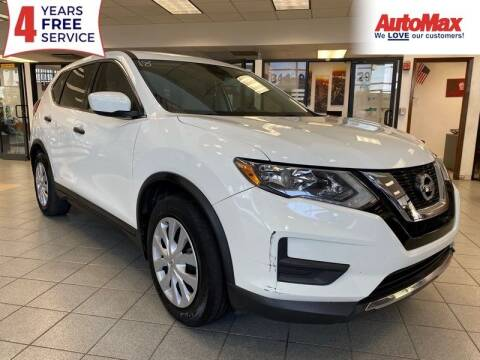 2017 Nissan Rogue for sale at Auto Max in Hollywood FL