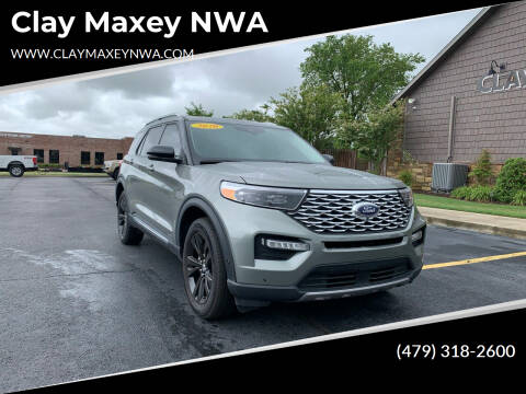 2020 Ford Explorer for sale at Clay Maxey NWA in Springdale AR