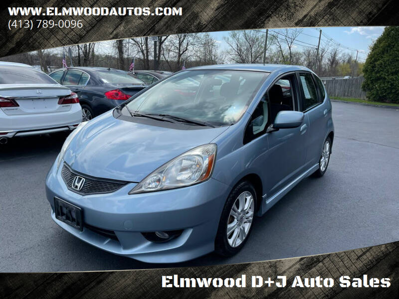 2011 Honda Fit for sale at Elmwood D+J Auto Sales in Agawam MA