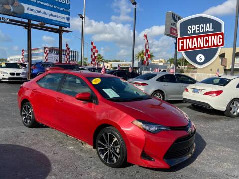 2018 Toyota Corolla for sale at MACHADO AUTO SALES in Miami FL