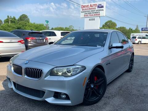 2014 BMW 5 Series for sale at Drive Auto Sales & Service, LLC. in North Charleston SC
